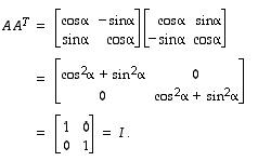 Ortogonaalinen Matriisi